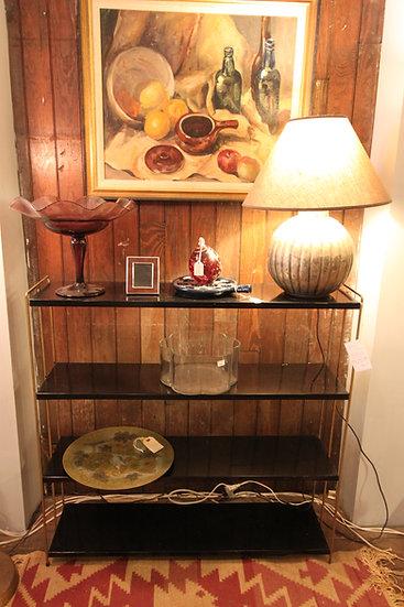 Mid-Century Metal Shelf