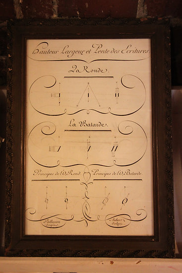Calligraphy Book Plate