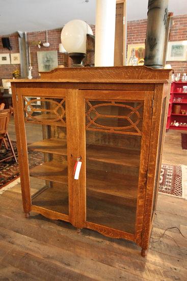 SOLD - Antique Oak Cabinet