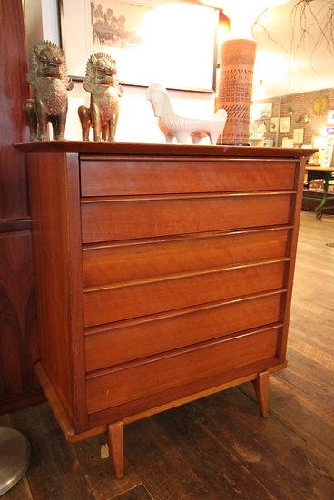 SOLD - Mid-Century Cherry Dresser