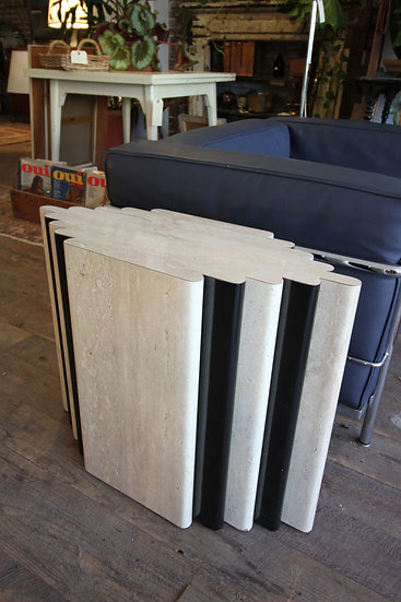 SOLD - Postmodern Deco Side Table