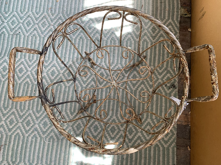 Wire Plant Stands (2 Available)