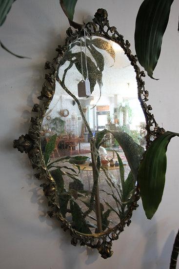 SOLD - Antique Mirror/Tray