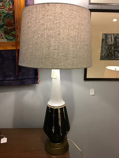 Ceramic Mid-Century Lamp