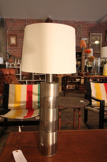 SOLD - Mid-Century Modern Chrome Lamp