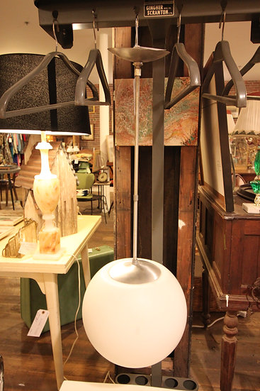 SOLD - Globe Ceiling Fixture