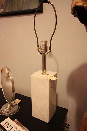 Mid-Century Marble Lamp