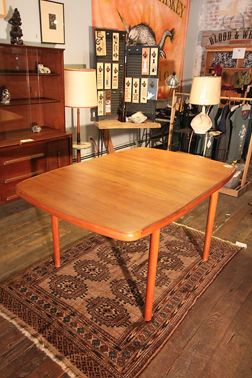 SOLD - Danish Butterfly Leaf Dining Table