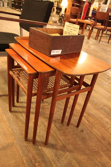 Set (3) Mid-Century Nesting Tables