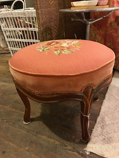 SOLD - Antique Footstool