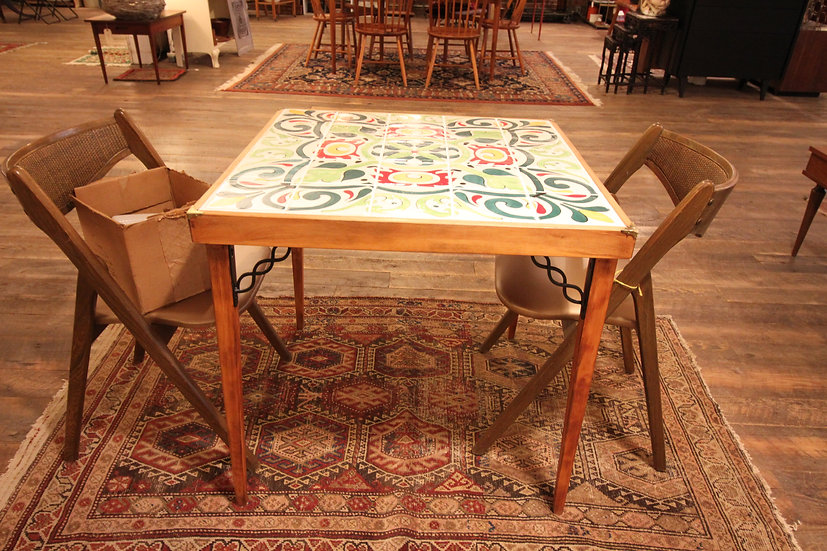 Tile Top Bistro Table