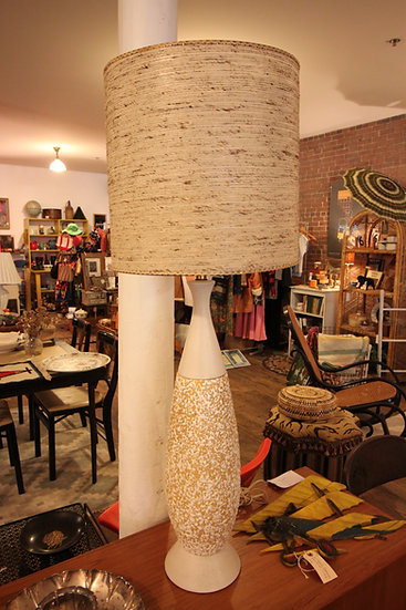 Large Mid-Century Lamp