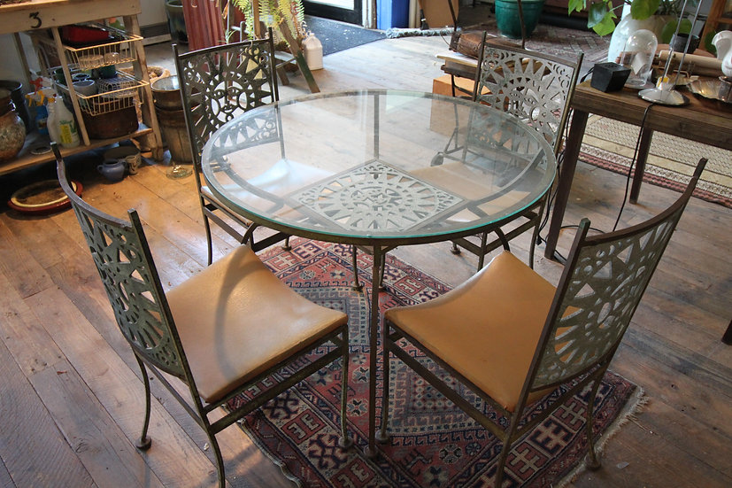 SOLD - Arthur Umanoff Patio Set