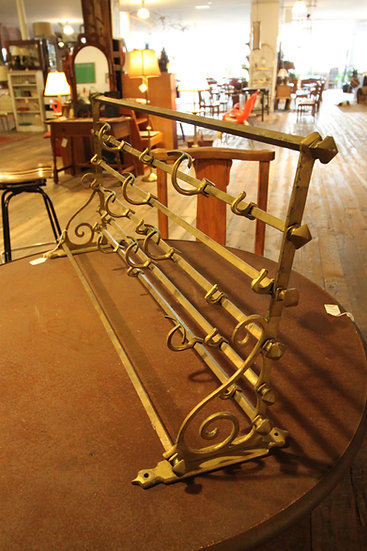 Brass Train Rack