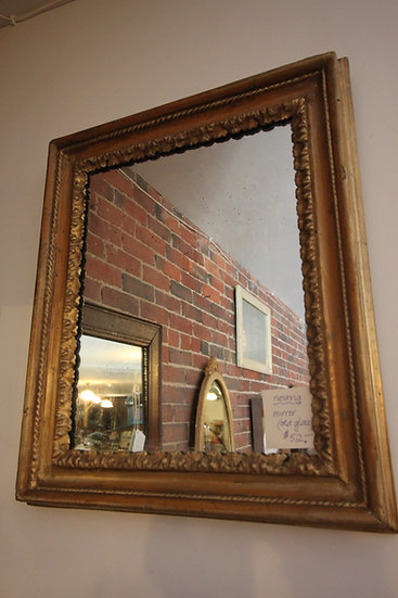 SOLD - Antique Gold Mirror