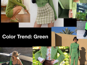 The Color of the season: The Green