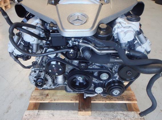 mercedes 63amg moteur demonte reparation