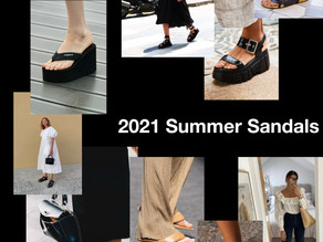 The Hottest Summer Sandals