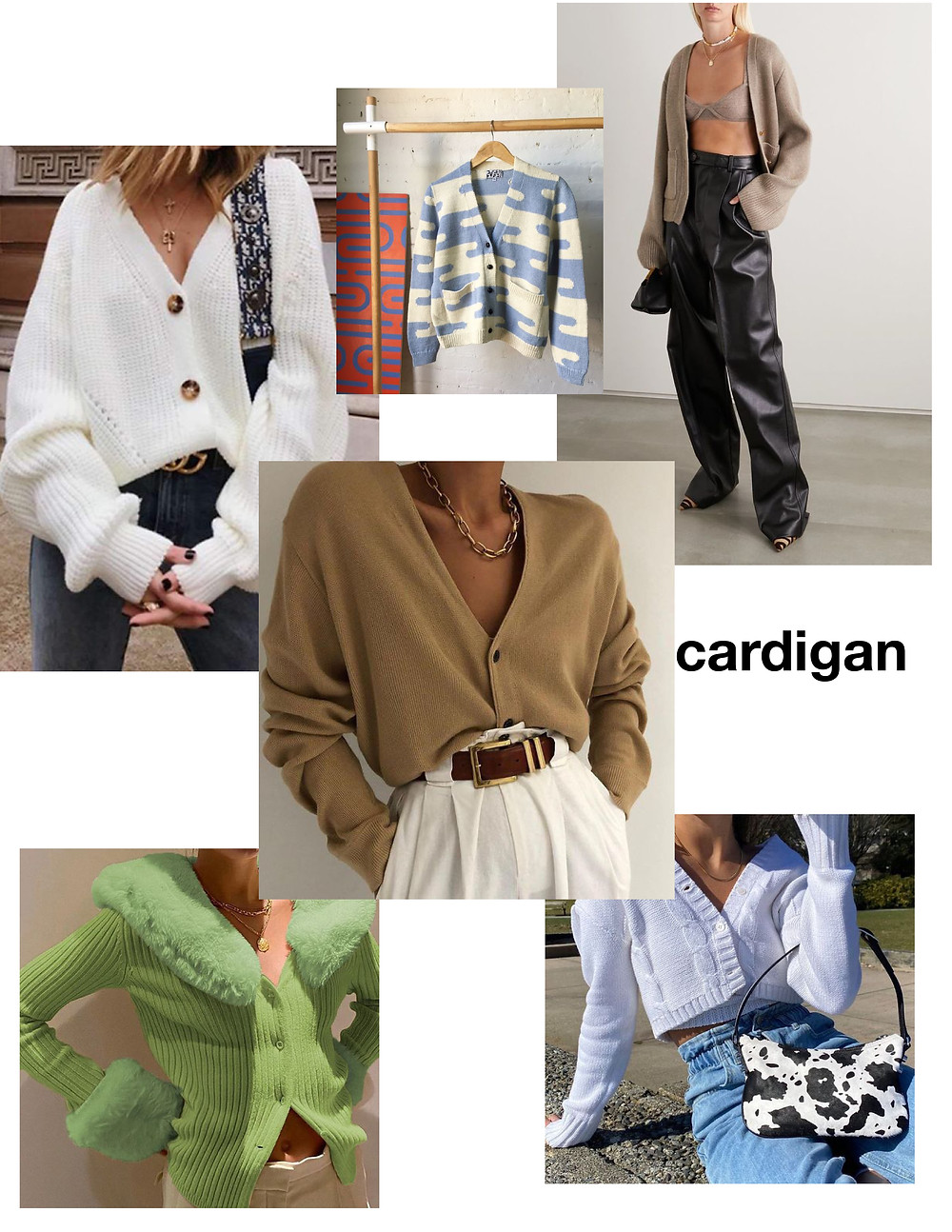 Cardigan, shopping, must-have, trendy