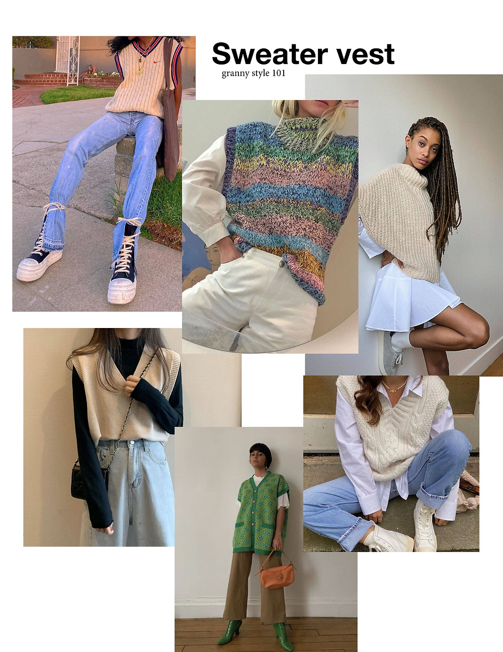 sweater vest, trendy, outfits, shopping, must-have, knits