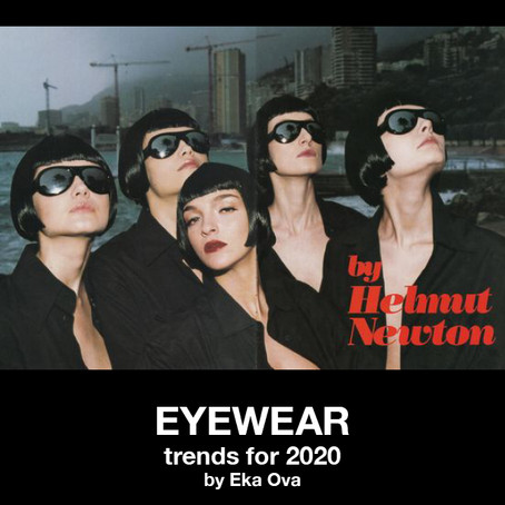 Eyewear trends for 2020