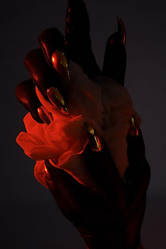claw gloves red