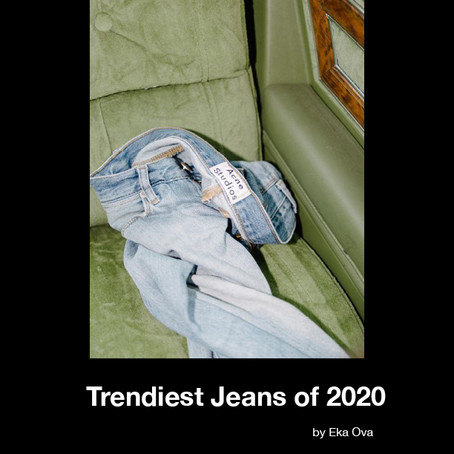 The Trendiest Jeans of 2020.
