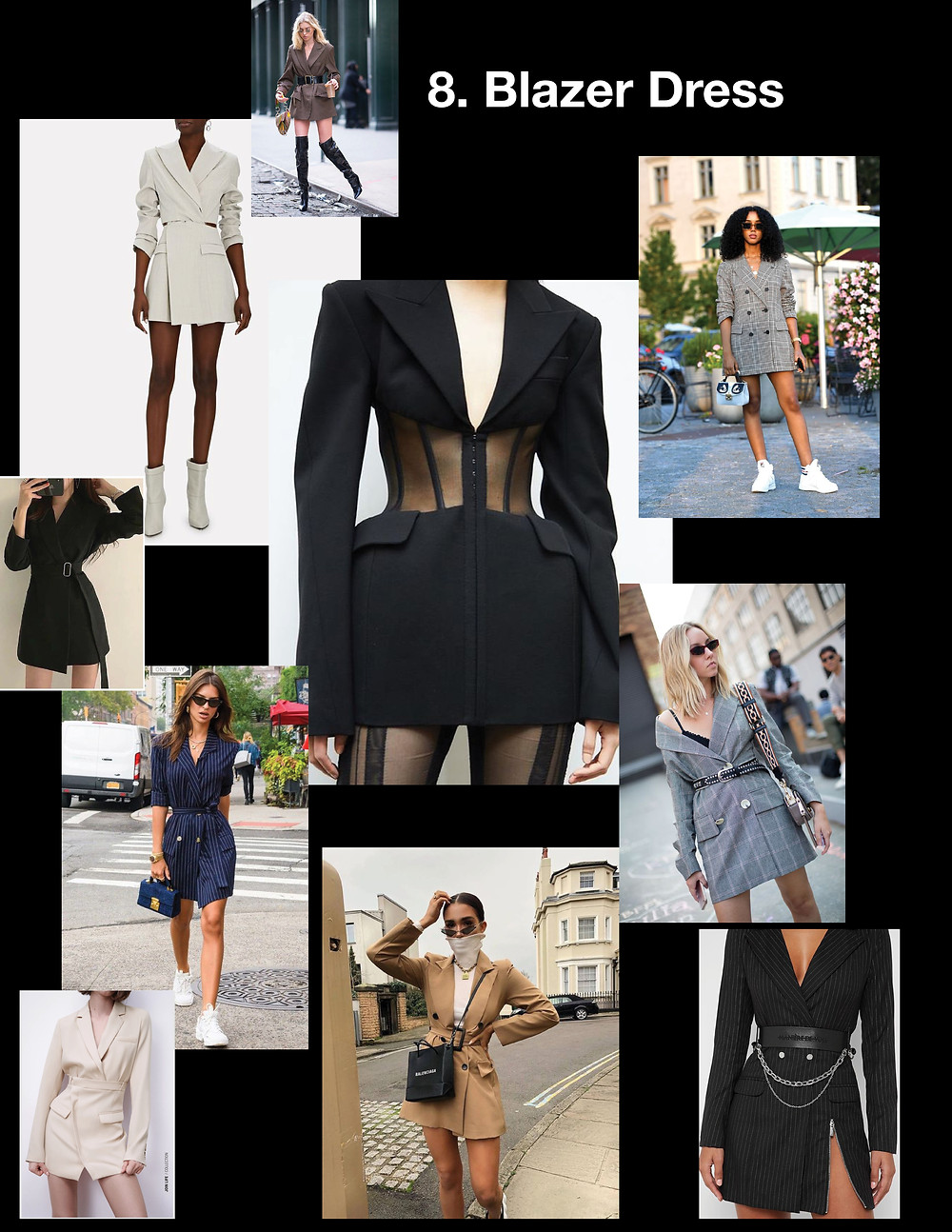 summer dresses 2021, style tips, fashion, shopping, trends, Blazer dress, Mugler