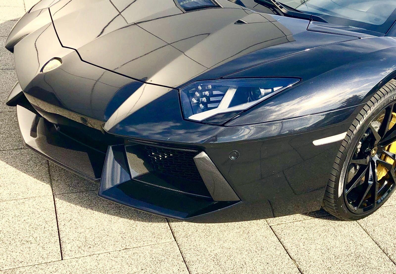 facade avant Lamborghini aventador