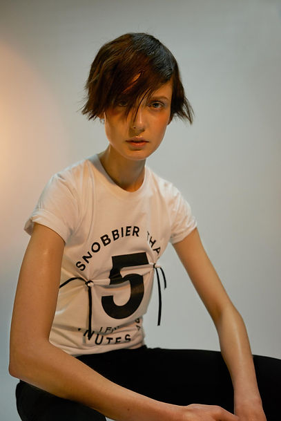 fashion editorial snob tshirt
