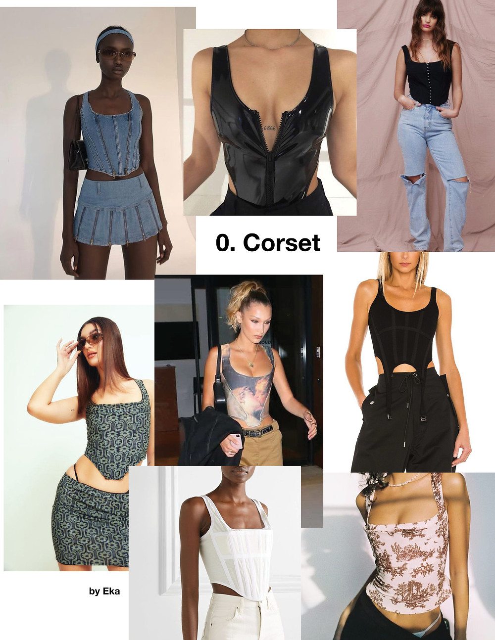 Fashion, Style, trendy tops for summer 2021, vintage corset outfit,