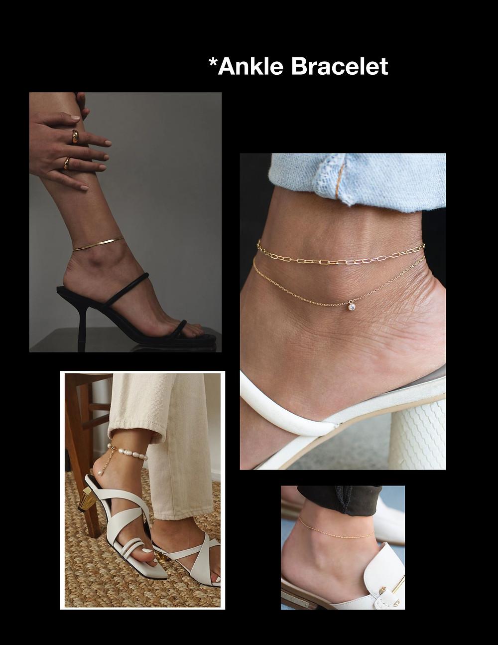 Ankle bracelet, Anklet