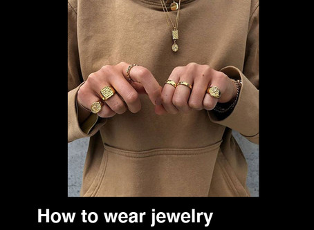 How to wear jewelry in 2020