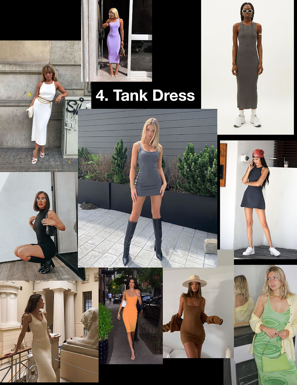 summer dresses 2021, style tips, fashion, shopping, trends, tank dress, chain belt, fit