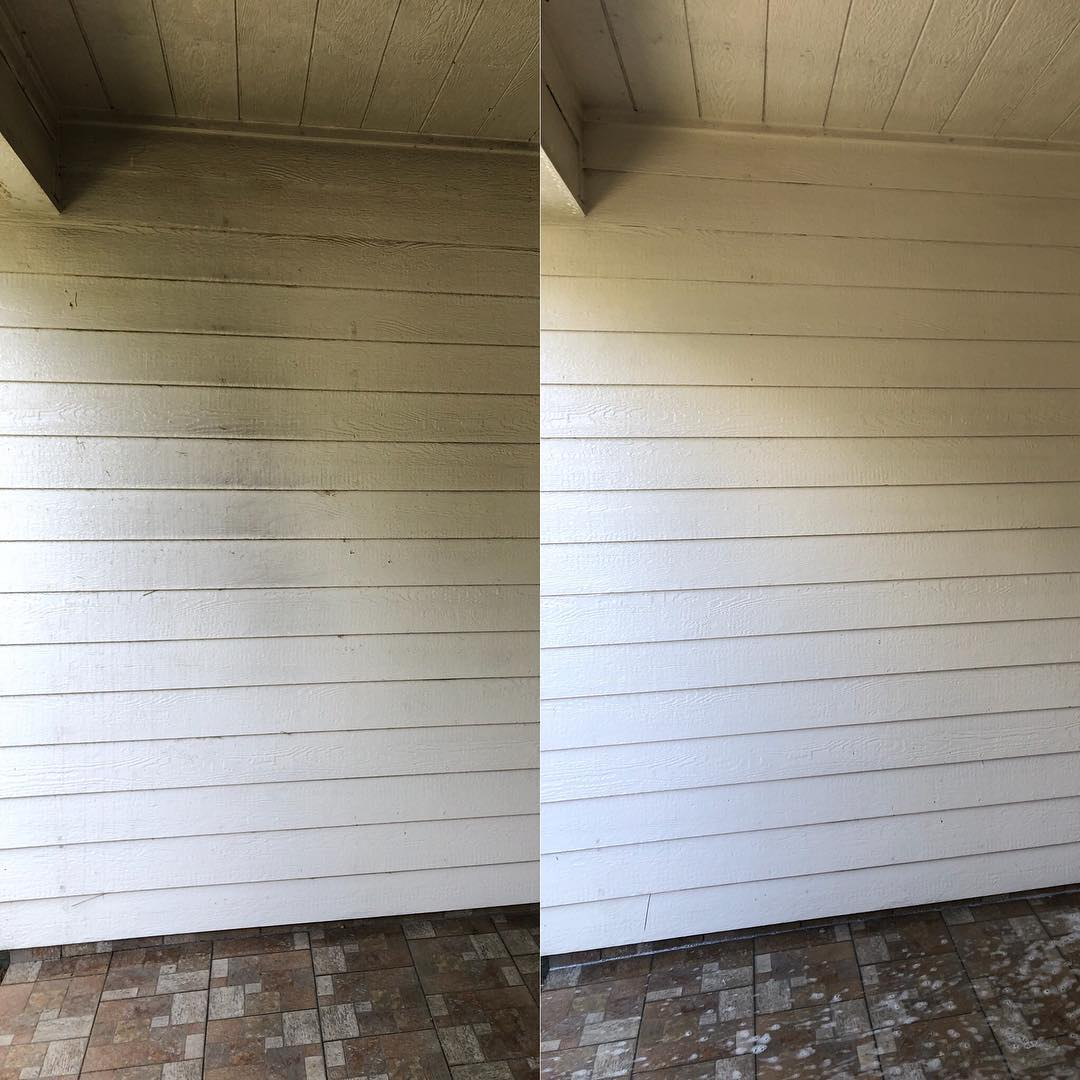 Bbq Grill Smoke Stain Cleaning
