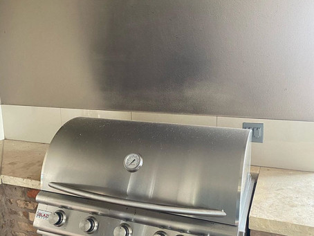 BBQ Smoke stain cleaning
