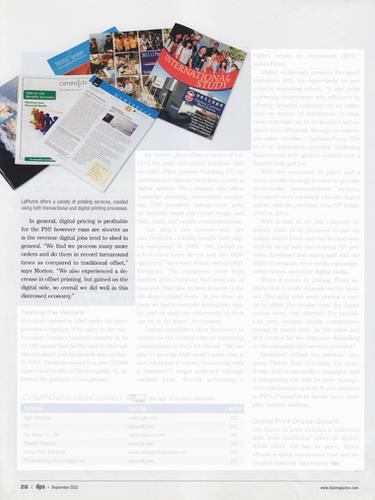 Digital Publishing Solutions | September 2012