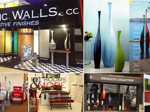 רהיטים וכדים מוצגים בחנויות עיצוב באוסטרליה