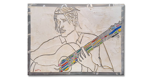 """""""Guitar Player"""" Relief"""