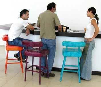 """""""Bar"""" Chairs colorful collection"""