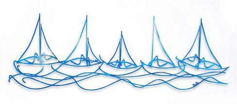 """Sailboats"" Outline"