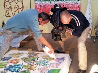 צילומים של תכנית אומנות ועיצוב בסטודיו של ג'וג'ו