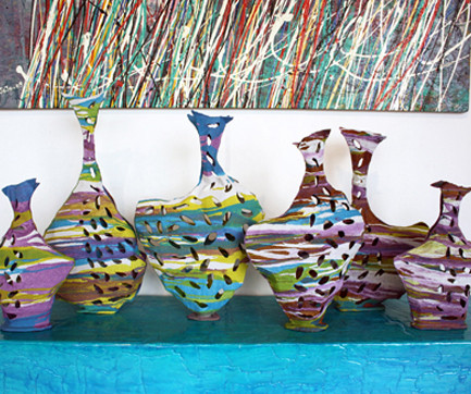 """Sahara"" vases collection"