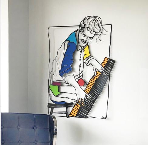 פסנתרן צבעוני