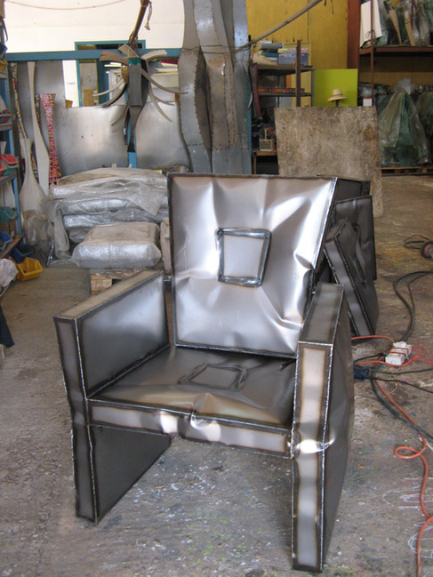 """""""Yong"""" Armchair in the making"""