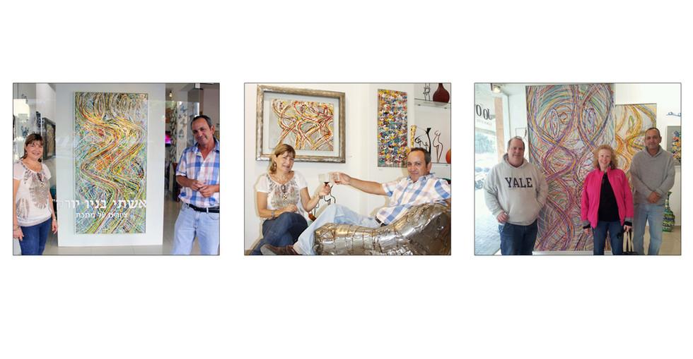 תמונות מהגלריה בתל אביב
