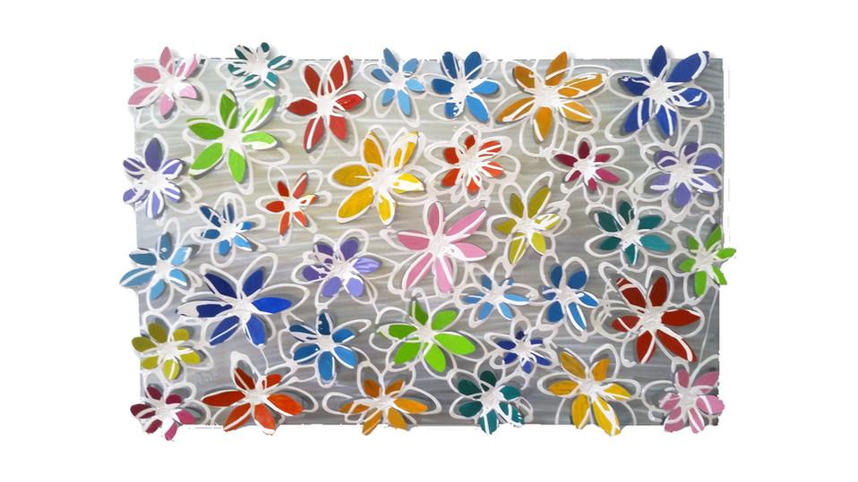 """""""קופסאת פרחים"""" צבעונית"""