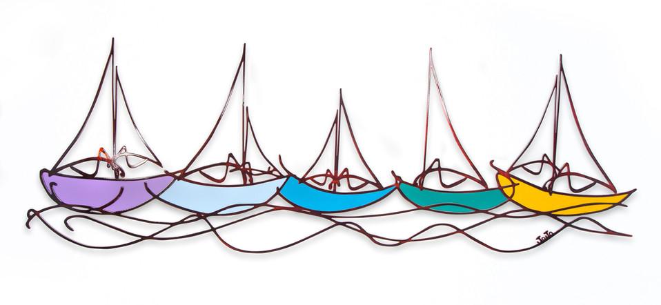 """""""סירות"""" צבעוני"""
