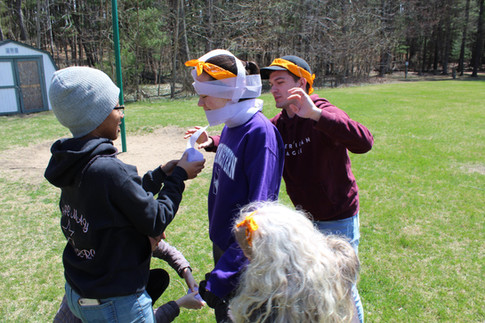 Fun and games on the Spring Retreat