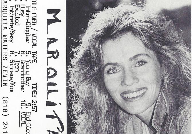 "Marquita_voice over j card 1980""s"